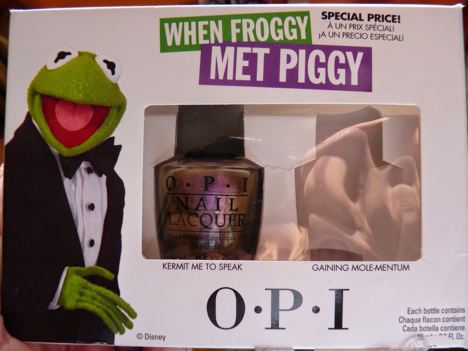 OPI – Kermit me to Speak