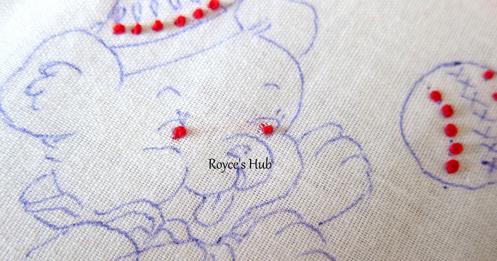Royce s hub basic embroidery stitches french knot