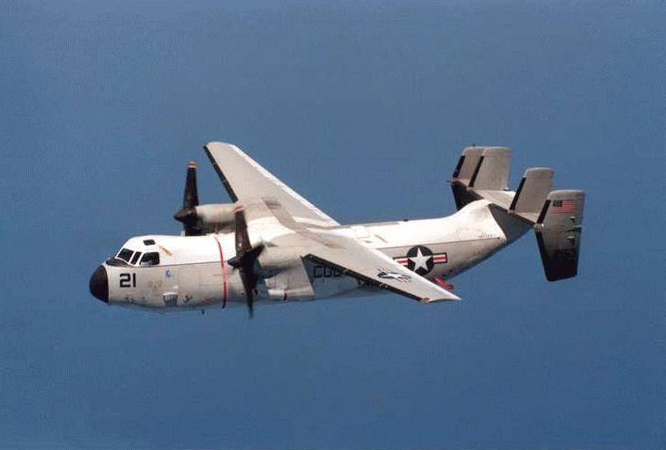 C-2A Greyhound Twin-Engine Cargo Aircraft