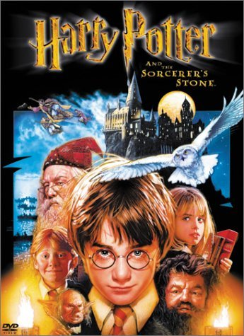 Poster Of Harry Potter And the Sorcerer's Stone 2001 720p BRRip Dual Audio
