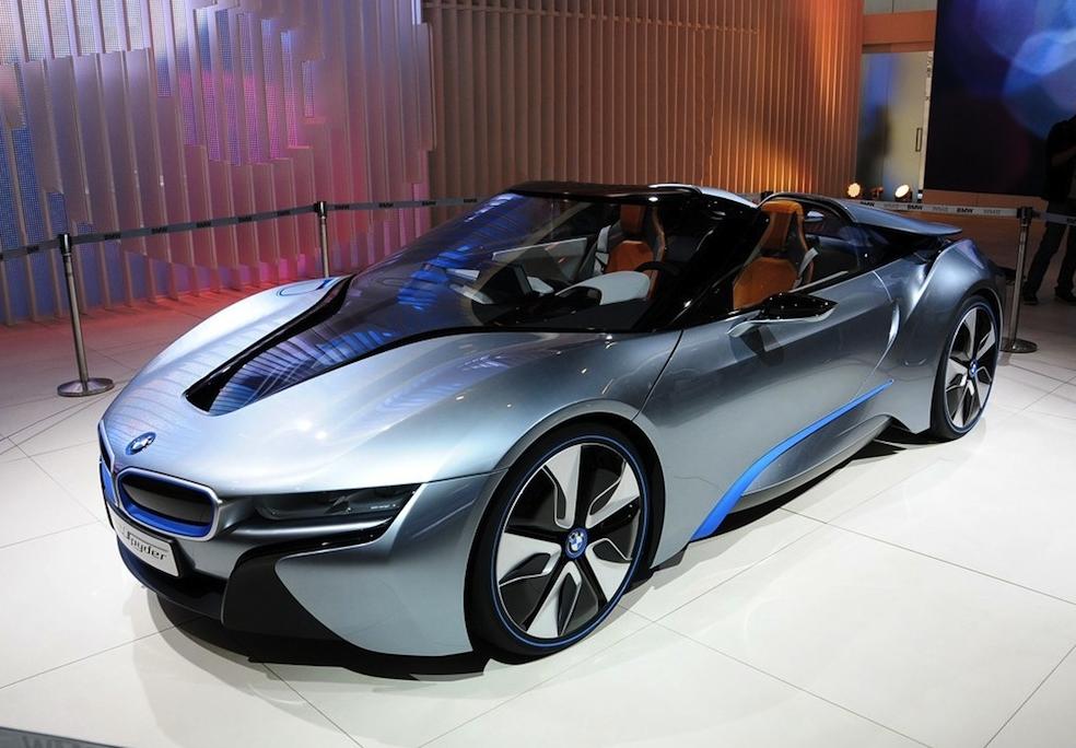 Bmw Bmw I8 Spyder Concept