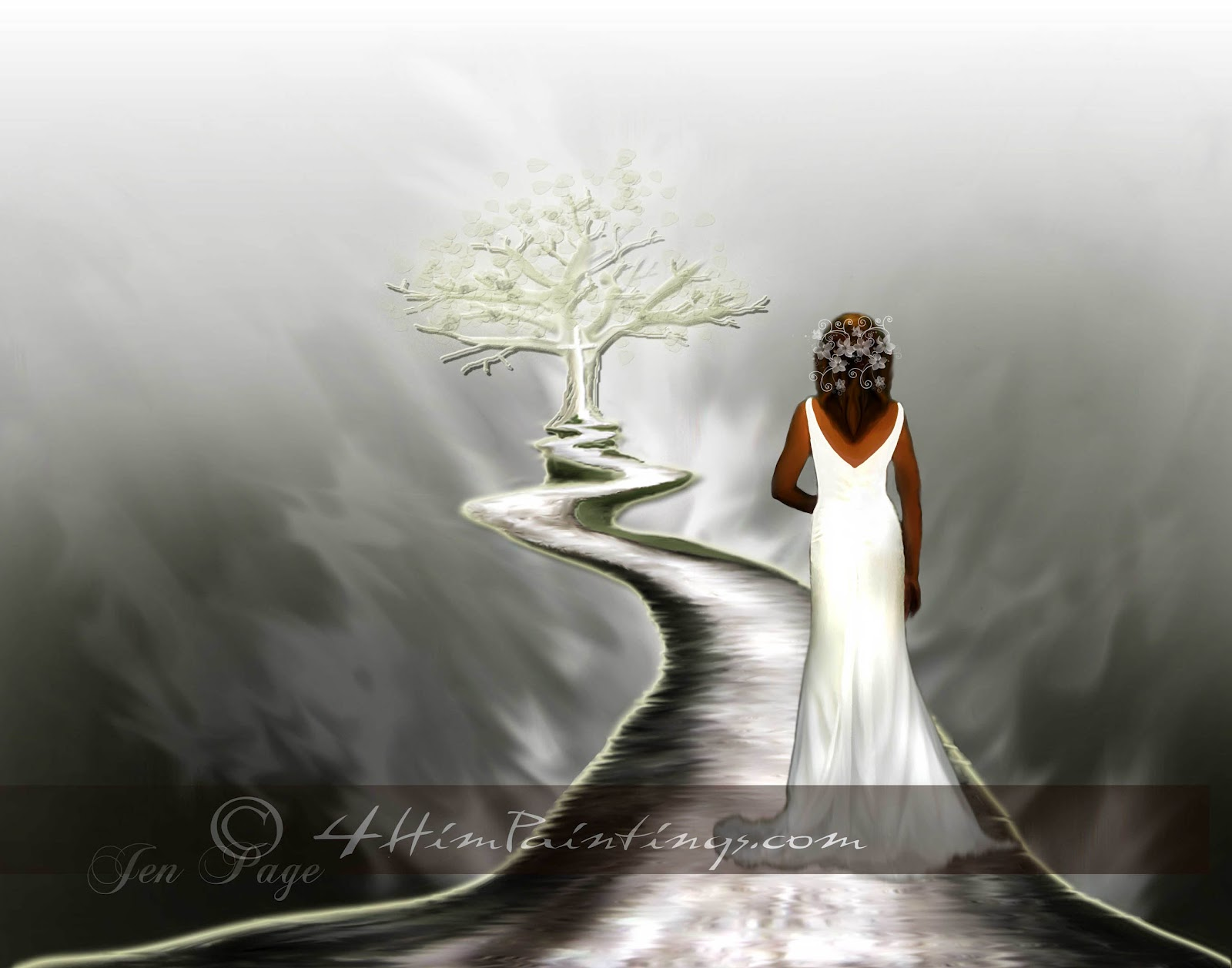 Pictures of Christ Bride http://4himpaintings.blogspot.com/2012/06/keep-moving-forward.html