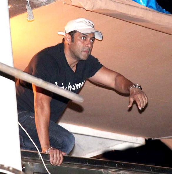 Salman Khan's Ganpati visarjan stills