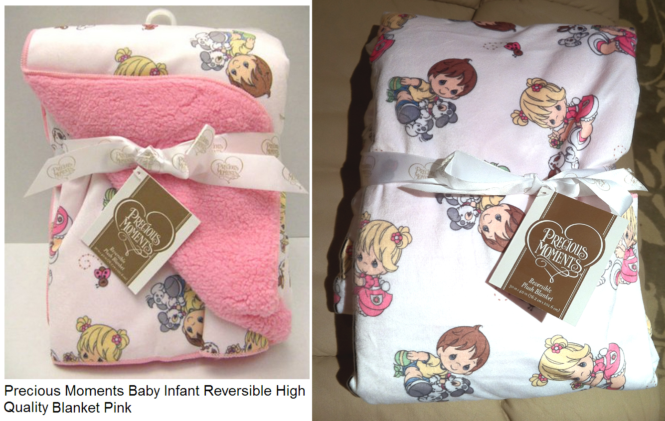 at the baby shower a precious moments baby infant reversible high