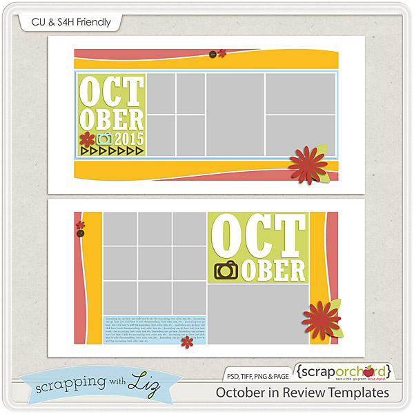 http://scraporchard.com/market/October-Review-Digital-Scrapbook-Templates.html
