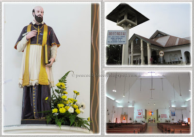 Sunday Eucharistic Mass at Church of St Francis de Sales, Sitiawan