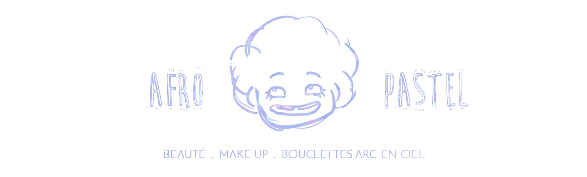 Afro Pastel, les bouclettes arc-en-ciel!
