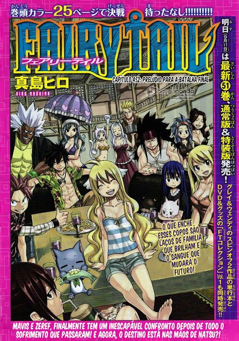 Fairy Tail Mangá 452, Mangá Fairy Tail 452, Fairy Capítulo 452, Todos os Mangás, ler, em, português, traduzido, legendados