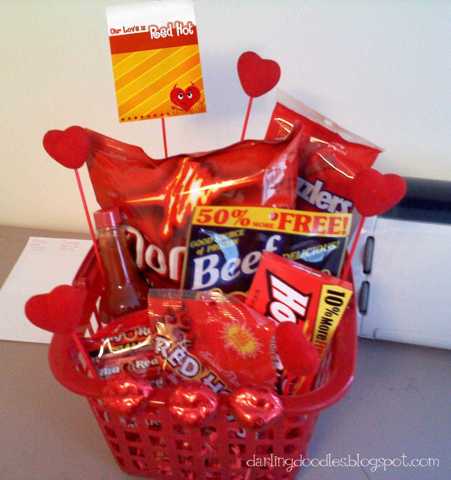 valentine's day gifts for him basket