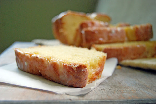 Copycat Recipe of the delicious Starbucks Lemon Loaf Pound Cake. This dessert is burting with mouth-watering lemony flavor in every bite! Sweet and zesty!