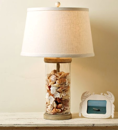 ... Fillable Table Lamp Target By Beach Glass Lamps Filled Bright  Decorating Idea For ...