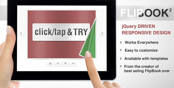 Image for Responsive Flip Book powered by jQuery