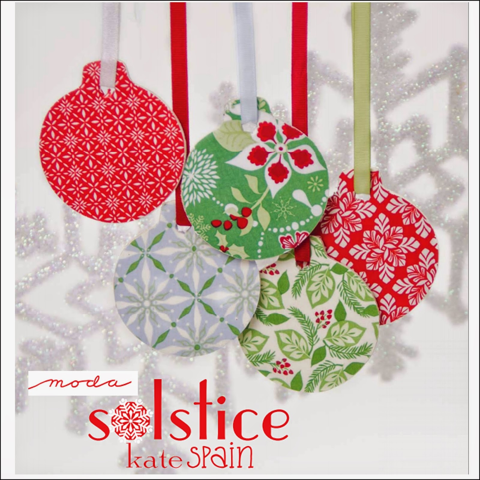 Moda SOLSTICE Christmas Holiday Quilt Fabric by Kate Spain for Moda Fabrics