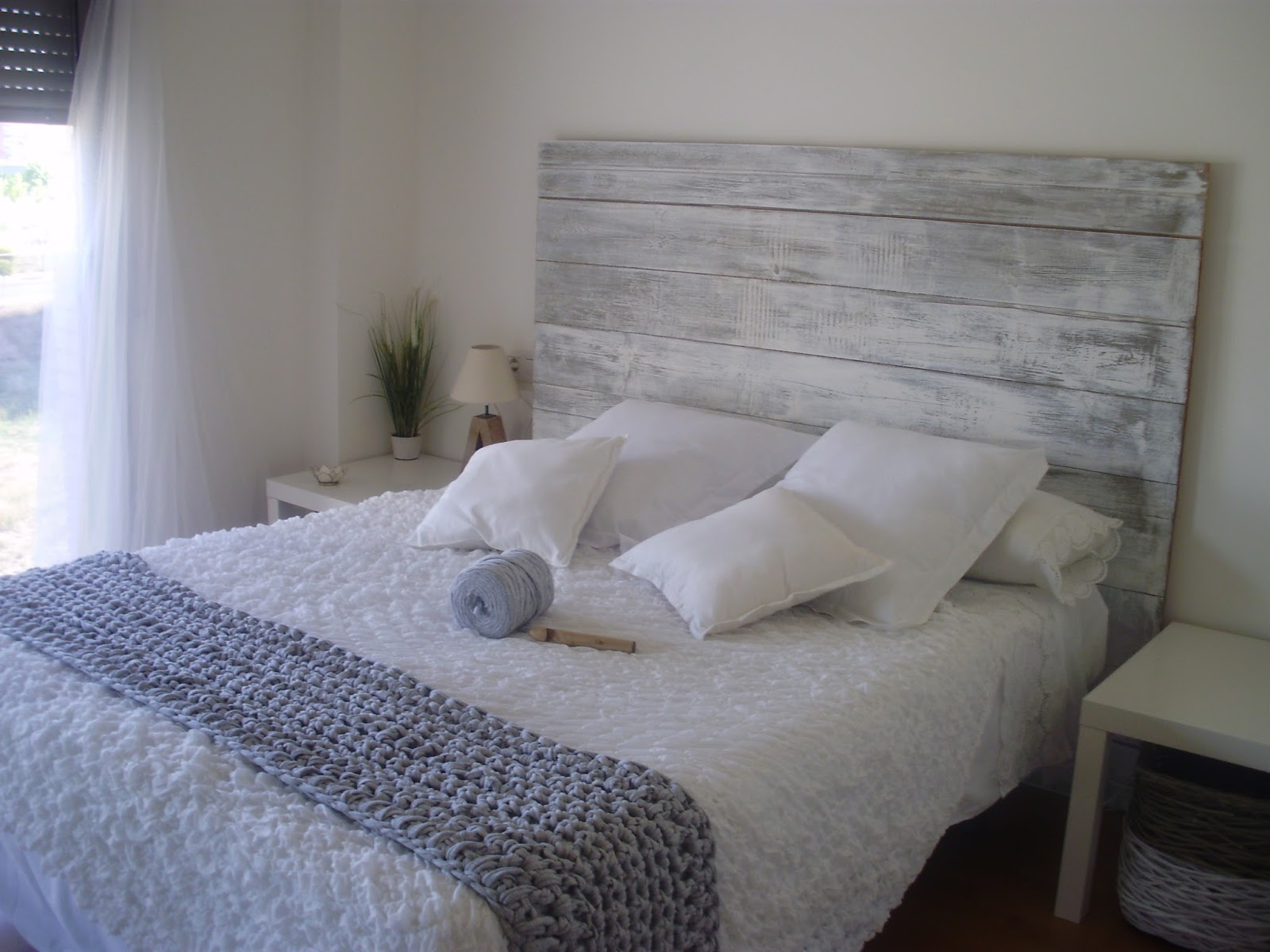 Las cositas de atelier una habitaci n nueva con muy poco - Ikea mantas para camas ...