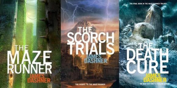 """O """"boom"""" da ficção distópica Maze-runner-trilogy"""