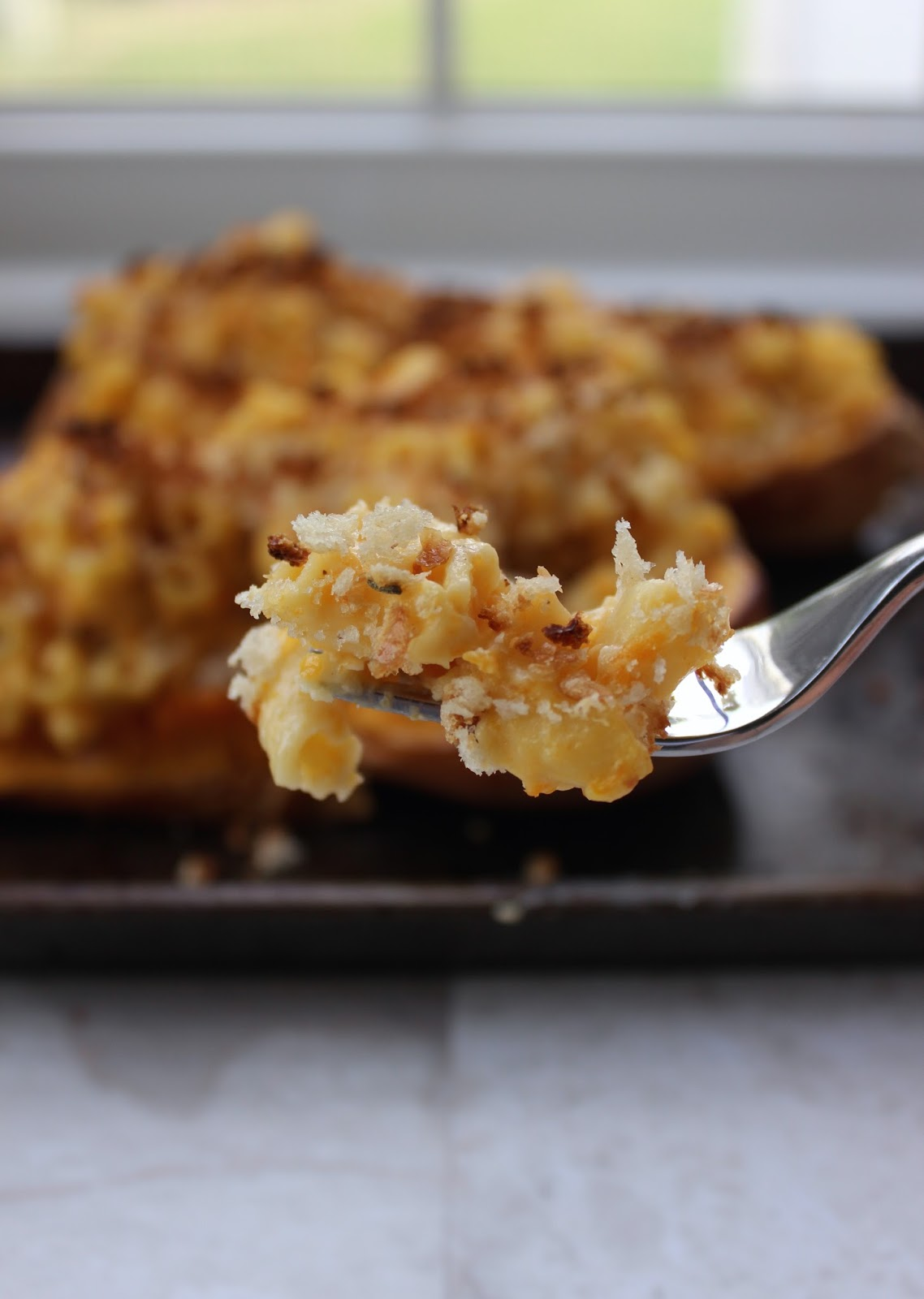 Stew or a Story: Mac and Cheese Stuffed Butternut Squash