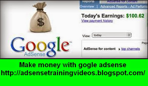 Homebased type ke work karne ke liye Google Adsense sabse best option hai