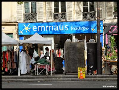 Emmaus Alternatives boutique boulevard Beaumarchais Paris 11
