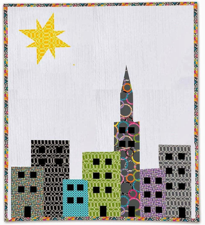 Free pattern ! Cityscape