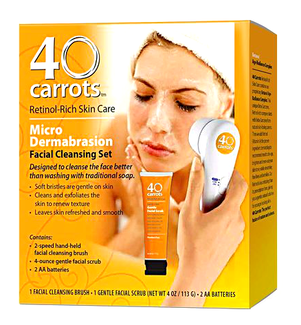 Review: Set de Microdermoabrasion Facial 40 carrots