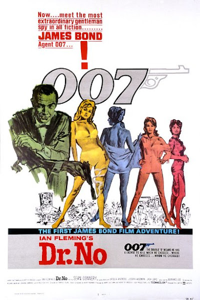Poster Of James Bond Dr. No 1962 720p Hindi BRRip Dual Audio Full Movie