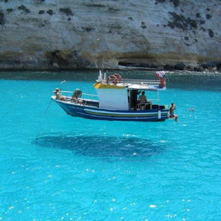 Very Blue Water, Clean and Amazing!