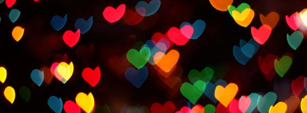 Hearts facebook cover for Girls