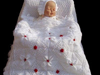 Derya Baykal Yeni Örgü Bebek Battaniye Modelleri