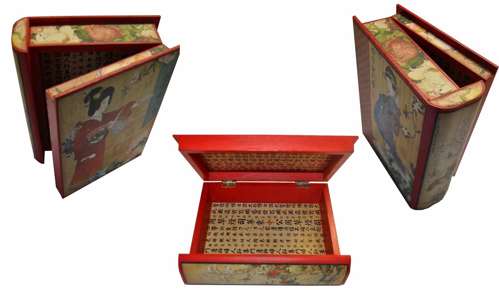 Caja de madera japonesa