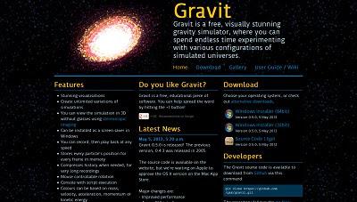 Gravit, Physic