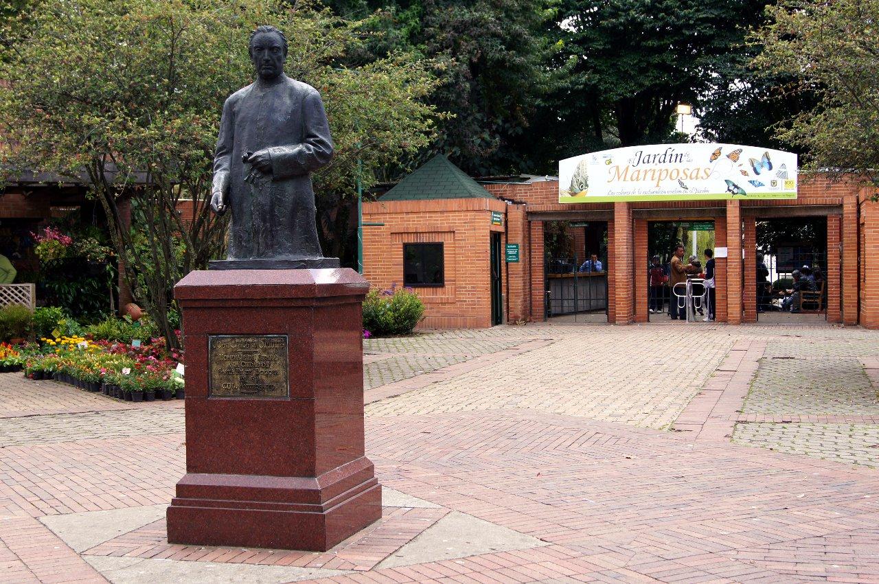 Bogotá en mil fotos: Jardín Botánico de Bogotá, José Celestino Mutis