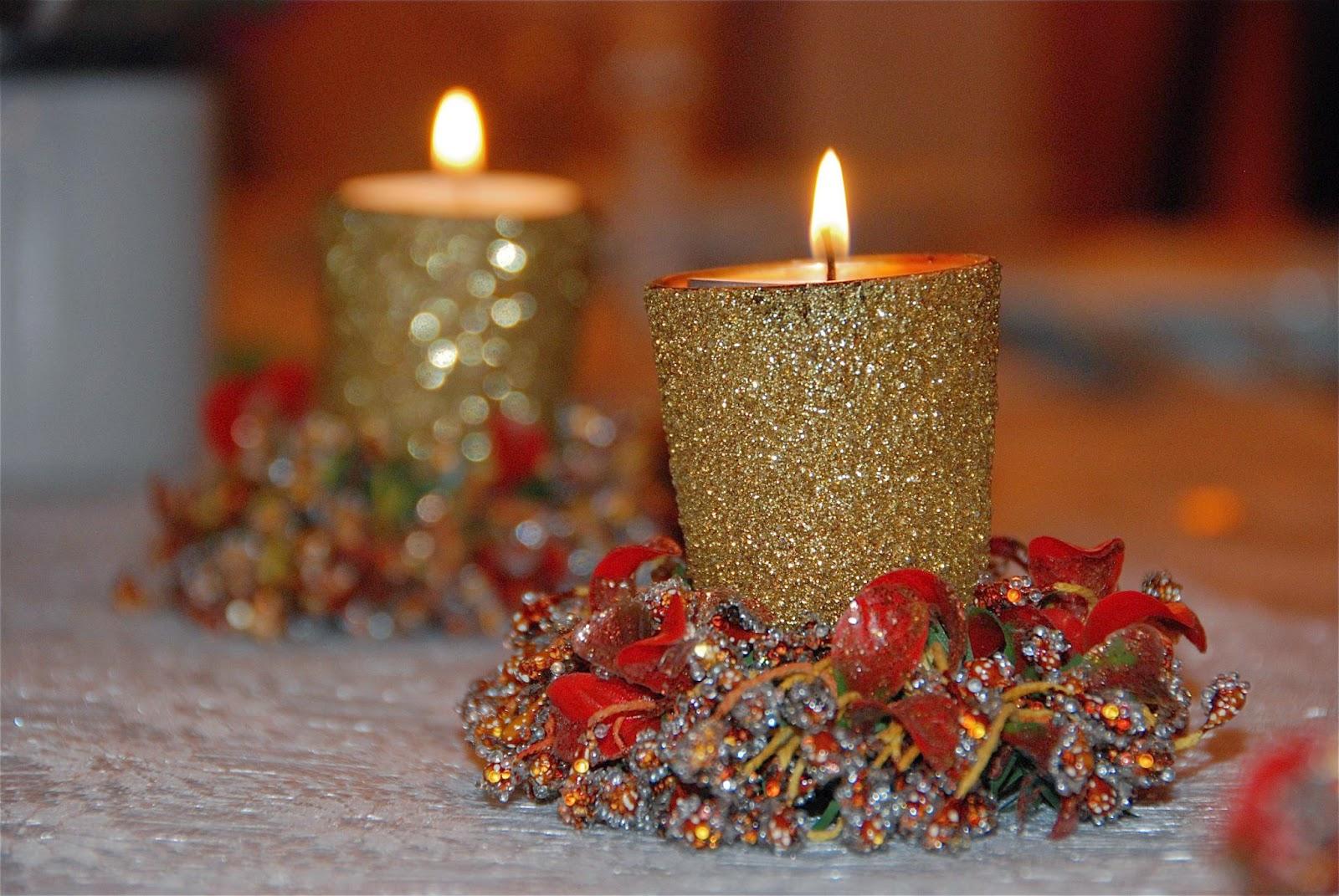 10 ideas para decorar velas navide as top 10 top ten - Velas decoradas para navidad ...