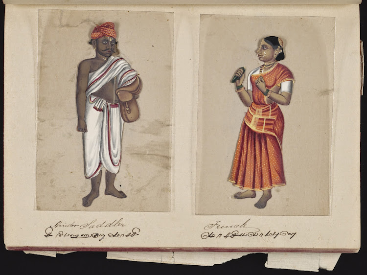 Hindoo Saddler and Female