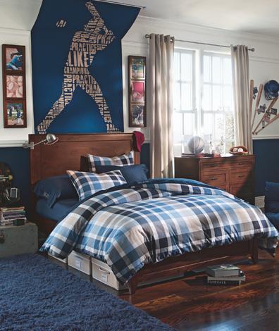 Marzua dormitorios juveniles para ellos for Decoracion de habitaciones para hombres
