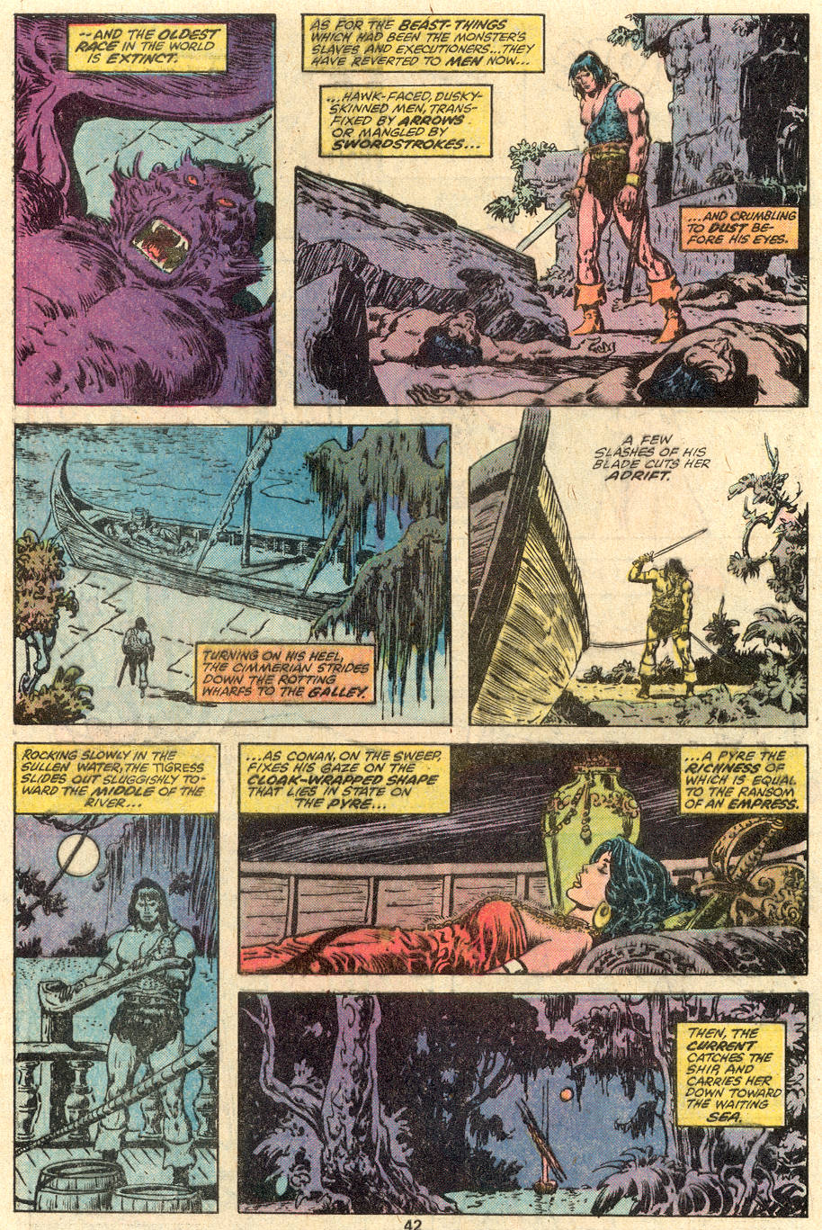 Conan the Barbarian (1970) Issue #100 #112 - English 32