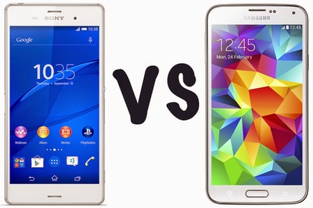 Lebih Unggul Manakah Antara Samsung Galaxy S5 VS Sony Xperia Z3