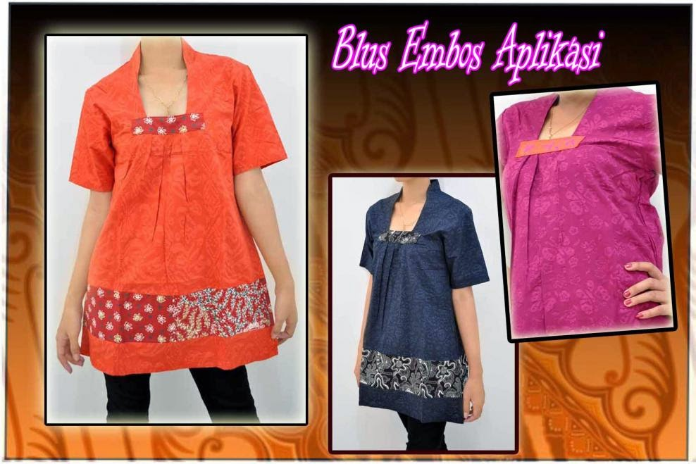 Kumpulan Foto Baju Batik Embos