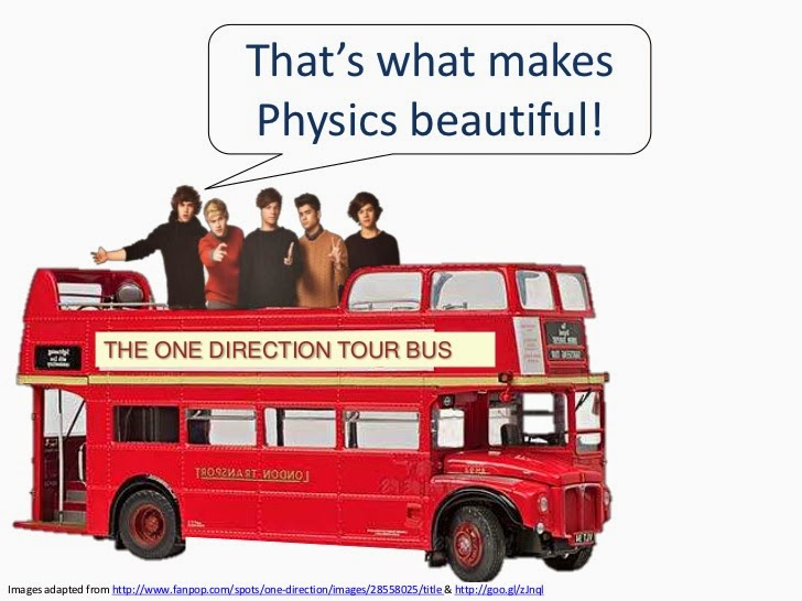 http://www.slideshare.net/gurustip/one-direction-do-physics