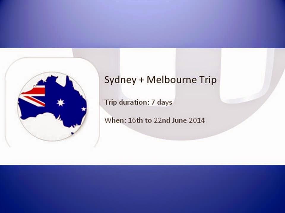 Redwoods Advance Singapore' Sydney and Melbourne Trip