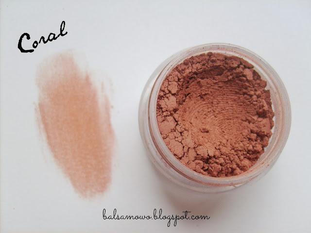 Annabelle Mineral róż kolor Coral