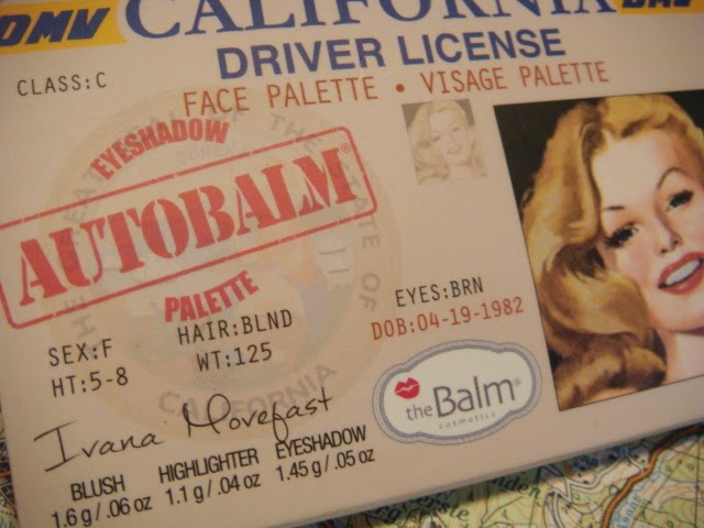 Autobalm Face Palette California de The Balm