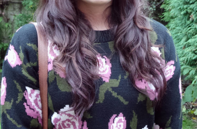 My hair after using the Reverse Conical Wand TONI&GUY Hair Meets Wardrobe Challenge - Casual - Reverse Conical Wand