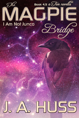 cover, The Magpie Bridge, JA Huss, reveal