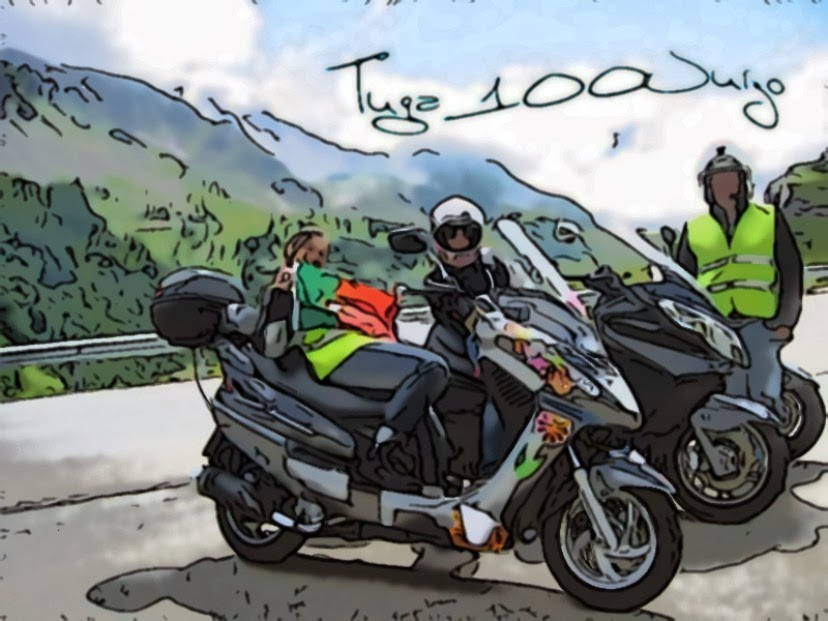 TRANCOSO PASSEIO DE VESPAS E MOTORIZADAS ANTIGAS  Blogue%2Bcartoon