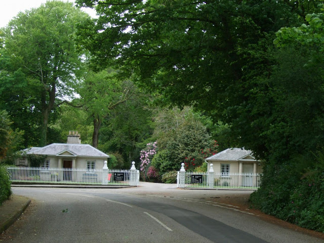 Trengwainton main entrance