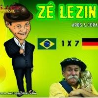 Zé Lezin – CD Apos A Copa - 7X1