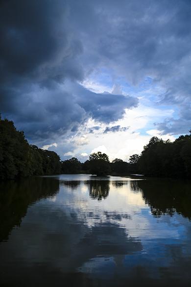 Dusk in Atlanta Georgia