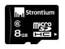 Stronium-memorycard-8GB-calss6