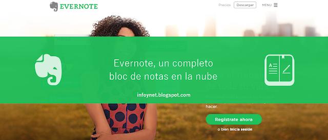 Evernote, un completo bloc de notas en la nube