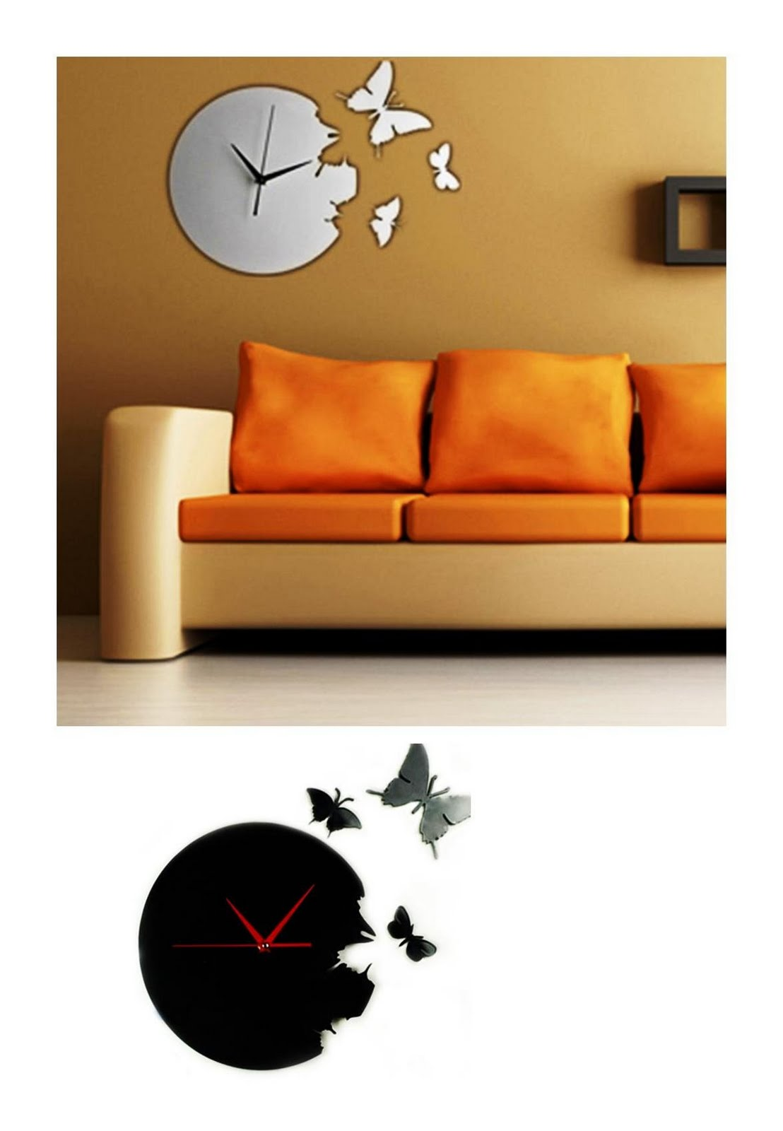 Large Wall Clocks Fly Away Clocks